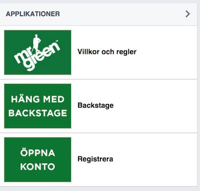 mrgreen på facebook